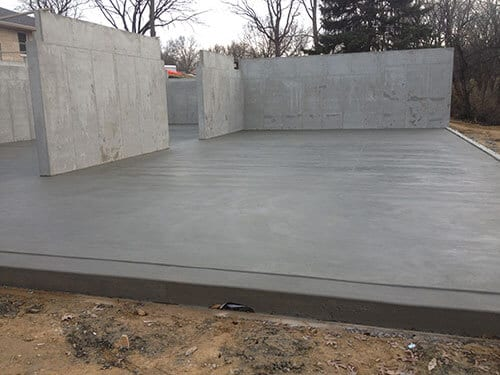 concrete foundation in maryville il